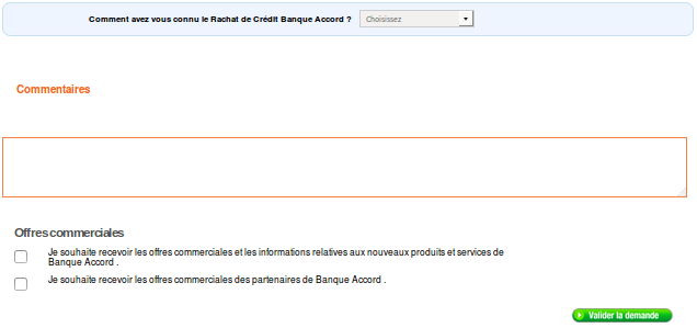 commentaires banque accord