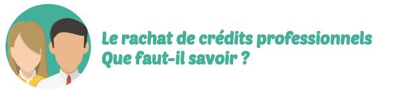 rachat credits professionnels