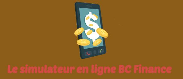 bc finance simulateur internet
