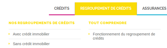cofinoga regroupement credits