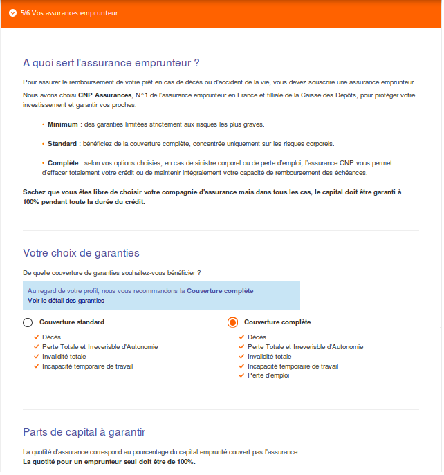 Simulation de refinancement de cr dit immobilier ing direct tutoriel - Fausse declaration assurance pret immobilier ...
